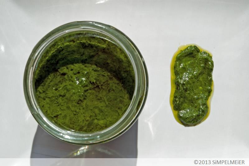 Bärlauch in Öl