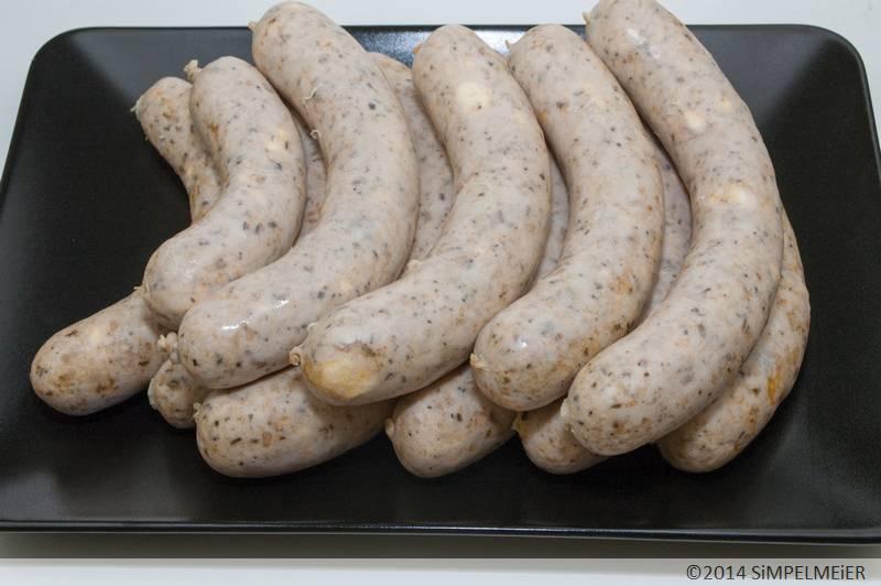Puten-Bratwurst Hellas 5