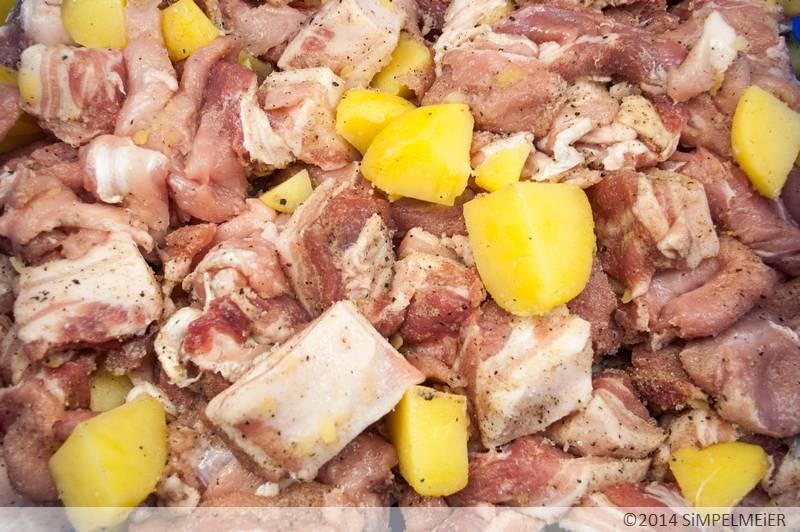Vogelsberger Kartoffelwurst 2